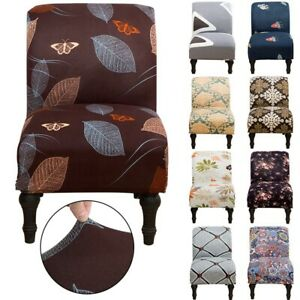 1/4/6Pcs Slipper Chair Cover Accent Seat Slipcover Home Armless Chair Protector