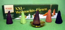 """Knox """"Christmas Giants""""  Pack, 5 Cones + Burning Tray - Direct From Germany"""