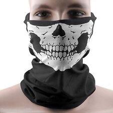 Gift Black Skull Bandana Neck Scarf Headwear Face Mask Cycling