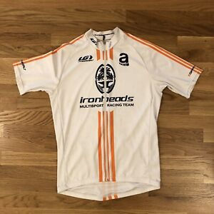Louis Garneau X ADIDAS Men's Large L Cycling Jersey Ironheads Portland Oregon