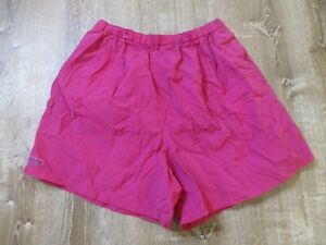 Vintage Women's Columbia hot pink Baggie Lightweight Nylon Shorts Hiking XL