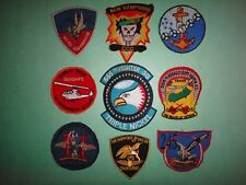 Collection Of 9 US Military Patches From Vietnam War Era