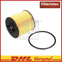 Febi Bilstein Ölfilter 37441 Skoda Roomster 5J, Audi A3 Sportback 8PA, VW Golf