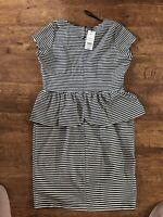 striped dress size 16 Papaya
