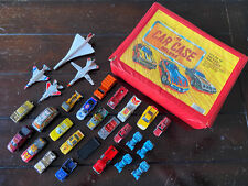 Vintage Diecast Cars, Trucks, Jets with Carry Case >Free Shipping<<