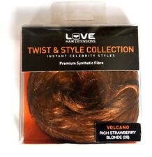 LOVE HAIR EXTENSIONS Twist & style 'VOLCANO - Rich Strawberry Blonde'