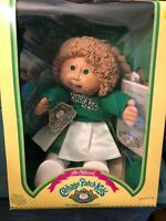 NEW VINTAGE Coleco Cabbage Patch Kids Doll Cheerleader 1984 New in box NOS -LGB1