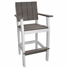 New Lake Shore Collection Outdoor Poly Lumber Bar Stool