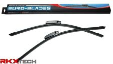 EURO-BLADES Front Windshield Wiper Blades Pair set for AUDI B6 B7 C5 S4 A4 C5 A6