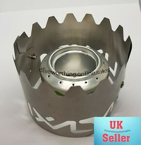 Titanium Alloy Alcohol Stove Windshield/Stand Outdoor Camping.Trangia,Evernew