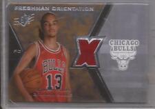 JOAKIM NOAH 2007-08 SPx Freshman Orientation ROOKIE Jersey Upper Deck Bulls RC