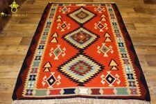 Handgewebter Kelim 145x235 cm Orientteppich Nomadenteppich Nomadenkelim NEU