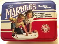 New Channel Craft MARBLES Shooting Games Made in USA Metal Tin Game