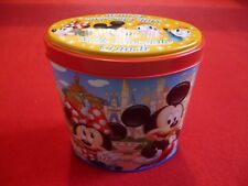 Disneyland Tokyo Theme Park Tin Mickey And Minnie Mouse, Daisy And Donald Duck.