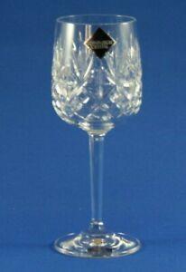 "EDINBURGH CRYSTAL - BERKELEY - LARGE WINE GLASS 18cm / 7"" UNUSED NEW CONDITION"