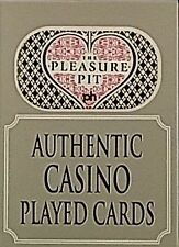Las Vegas Authentic Casino Table Played Cards Poker, Select: Casino