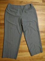 WOMEN'S GRAY DRESS PANTS - CATO - SIZE 24W - STRAIGHT LEG