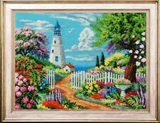 """Bead Embroidery kit GOLDEN HANDS P-012 - """"Blooming Crimea"""""""