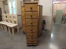 CHASE RANGE 6 DRAWER WELLINGTON CHEST SOLID PINE HAND MADE BESPOKE SIZES COLOURS