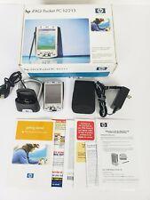 Hp iPaq Pocket Pc Pda Computer H2215 Mp3 Bluetooth Microsoft - Works - Dead Batt