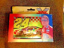 Jeff Gordon numbered/Limited Edition Collectible Tin with two decks of cards