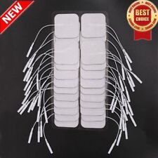 20 Replacement Pads for Massager/Tens Units electrode pads2x2Inch White Cloth XP