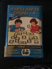 "Turkish & Arabic Matching Game ""Esma Al-Husna"" (God's Beautiful Names)"