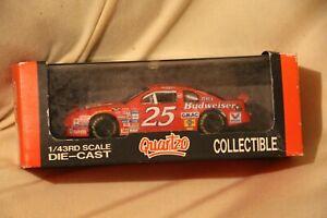 Quartzo 1:43 NASCAR Chevrolet Monte Carlo #25 Budweiser