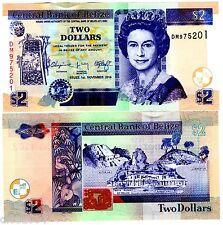 BELIZE Billet 2 Dollars  2014  P66  QUEEN ELIZABETH II / QE2  NEUF UNC