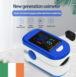 Finger Pulse Oximeter UK Fingertip Blood Oxygen SpO2 Heart Monitor