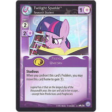 My Little Pony - Card- #PF4 - TWILIGHT SPARKLE - Research Stundent (promo holo)