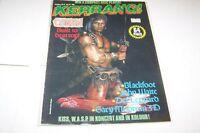 #79 KERRANG music magazine - CONAN - KISS - WASP