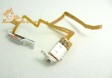 White Headphone Audio Jack Flex Hold Switch Button for iPod 5th Gen Video 30GB