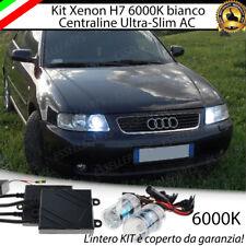KIT XENON SLIM XENO 6000K 35W AC PER AUDI A3 8L 8 L ULTRALUMINOSI CON GARANZIA