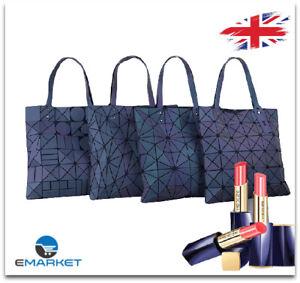Luminous Geometric Backpack Women Girls Bags Travel Laser Bag Drawstring Handbag