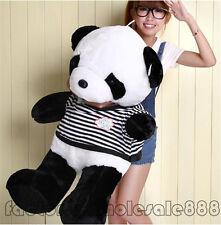39'' Big Cute Doll Stuffed Animal Panda Bear Plush Toy Pillow Bolster Stuff Gift