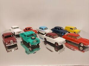 Vintage Diecast Dinky Toys Corgi Toys job lot for restoration