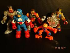 Mattel & Marvel Rescue Heroes Action Figures Lot of 5 1999-2002