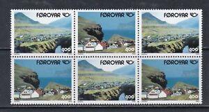 Faroe Islands 1993 Tourism Booklet Pane UM