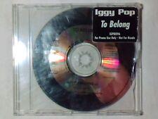 IGGY POP To belong cd singolo PR0M0