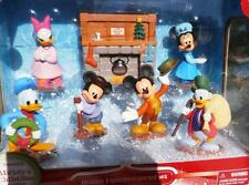 7PC DISNEY MICKEY MOUSE CHRISTMAS CAROL HOLIDAY FIIGURINE SET FIGURES DECOR GIFT