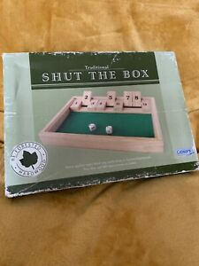 Wooden Puzzle Game. Toy. Shut The Box