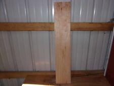 """1 Pc Cherry Wood Wide Kiln Dried 33 1/8""""X 6 5/16""""X 3/4"""" Lot 598A Flat"""