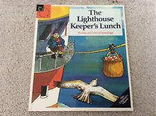 Signed Copy of The Lighthouse Keeper's Lunch David Armitage, Ronda Armitage