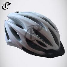 FISCHER Fahrradhelm Inmold White Pearl Weiß Radhelm Helm Bike Helmet Gr. S/M