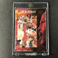 MICHAEL JORDAN 1999 UPPER DECK SPX #J3 DECADE OF JORDAN HOLO REFRACTOR INSERT MJ