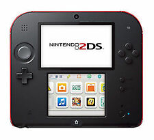 Nintendo 2DS Launch Edition Crimson Red Handheld System