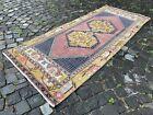 Carpet, Turkish rug, Vintage rug, Handmade rug, Runner, Wool | 3,0 x 7,2 ft