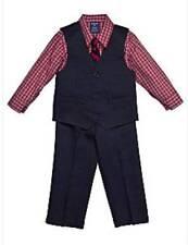 IZOD 4 piece Navy Suit Size 6 Regular NWT