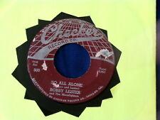 BOBBY LESTER~ SO ALL ALONE~ G++~ SHOO DOO BE DOO~ CHECKER~ 806 ~ DOO WOP 45